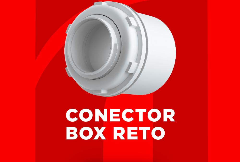 Conector Box Reto em Caixas de Passagem: Segurança, praticidade e facilidade